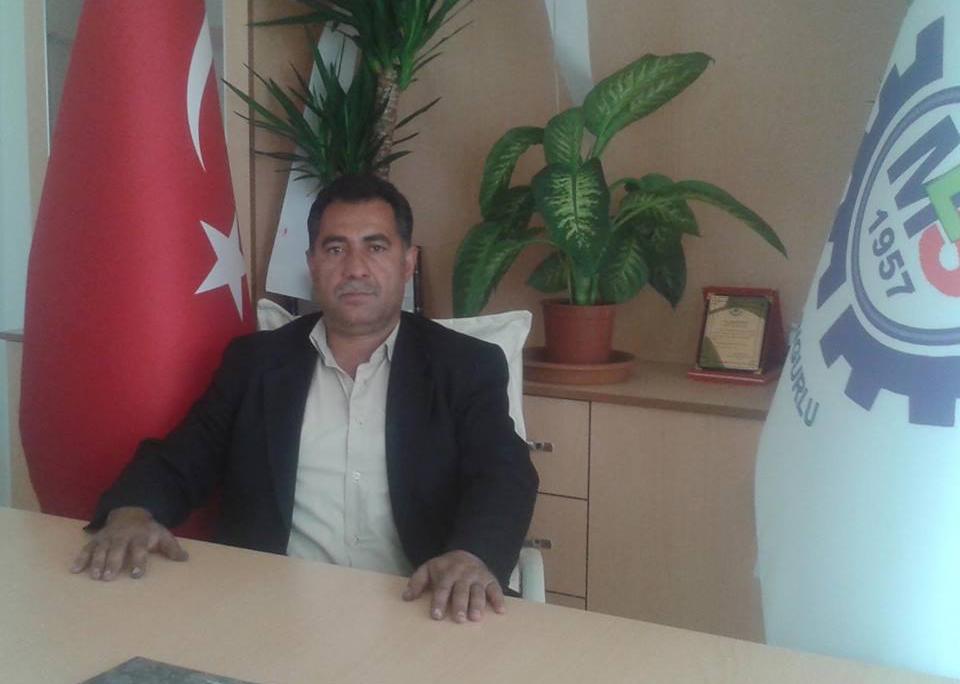 Sungurlu Madeni Sanatkârlar Odası Başkanı olan Hakkı Vargeloğlu, ofisimizi ziyaret etti. | Sungurlu Haber