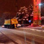 Çalışmaların kar yağışı devam ettikçe sürdürüleceğini belirten yetkililer, oluşabilecek her türlü olumsuz koşul için hazır olduklarını söylediler.   Sungurlu Haber