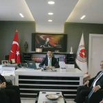 İYİ Parti Sungurlu İlçe Başkanı Fazlı Koçak, Başkan Yardımcısı Murat Erözgün ve yönetim kurulu üyeleri ilçedeki kamu kurum ve kuruluşlarını ziyaret etti. | Sungurlu Haber