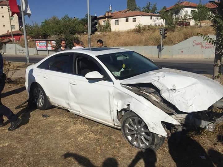 Kavşakta Feci Kaza : 4 Yaralı » Sungurlu Haber