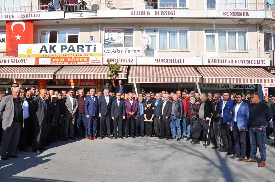 Ak Parti önceki dönem İlçe Başkanı Muammer Çuhacı, 31 Mart 2019'da yapılacak olan yerel seçimler için Ak Parti'den Sungurlu Belediye Başkan Aday Adaylığını açıkladı | Sungurlu Haber