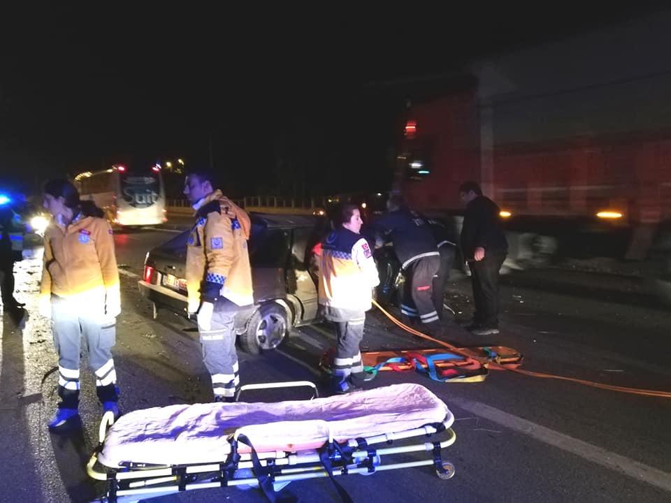 Sungurlu'da meydana gelen trafik kazasında 1 kişi yaralandı. | Sungurlu Haber