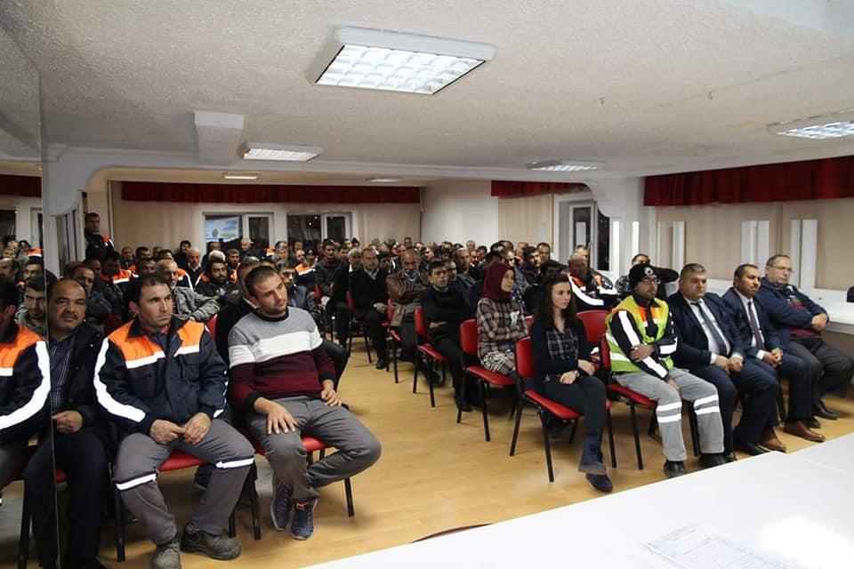 Belediye Personeline İş Sağlığı ve Güvenliği Eğitimi Verildi » Sungurlu Haber
