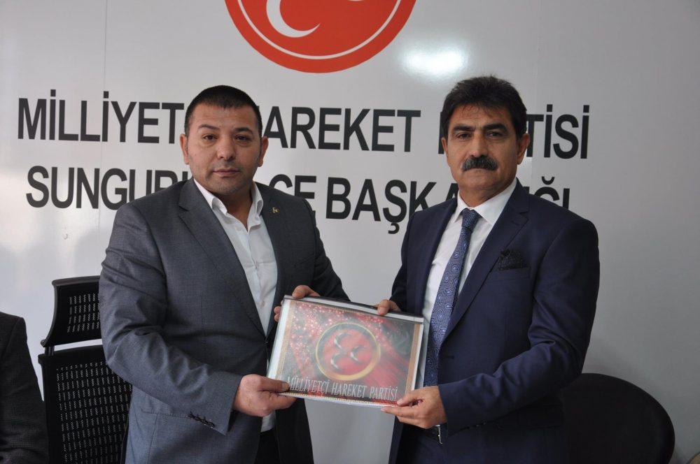 İş Adamı Şaban Köyhanoğlu Milliyetçi Hareket Partisi (MHP) Sungurlu Belediye Başkan Aday adaylığını düzenlediği basın toplantısıyla açıkladı. | Sungurlu Haber