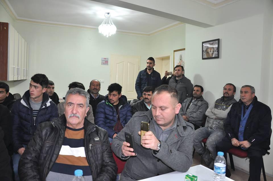 Aşağıfındıklı köyü Muhtarı Şevki Kalınsazlıoğlu, Milliyetçi Hareket Partisi'nden Sungurlu Belediye Başkan aday adaylığını açıkladı. | Sungurlu Haber