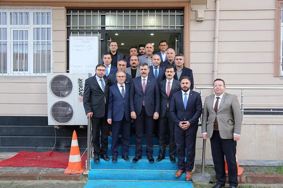 Çorum Valisi Mustafa Çiftçi Sungurlu'ya gelerek bir dizi ziyaret ve incelemelerde bulundu. | Sungurlu Haber