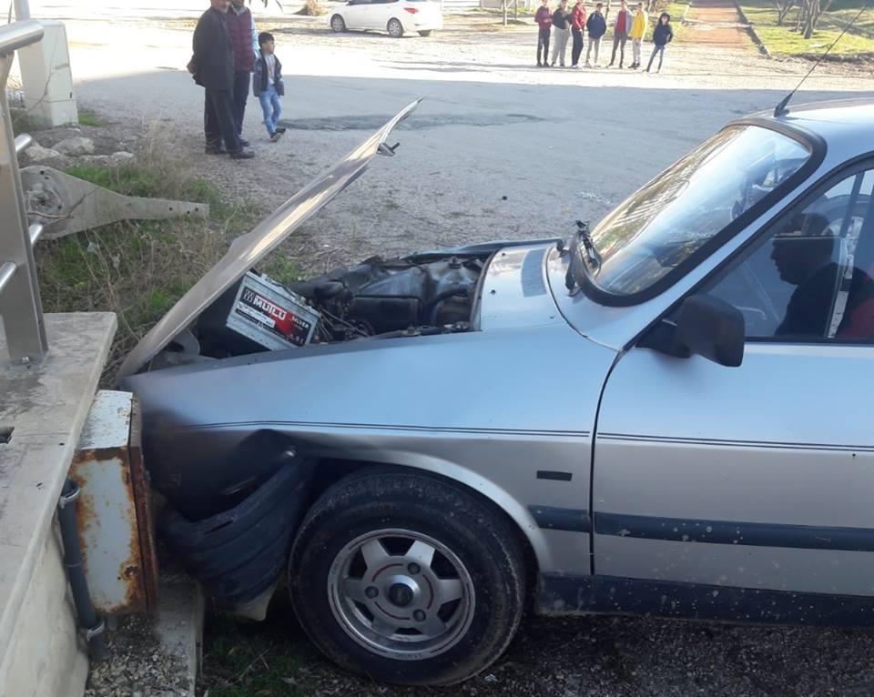 Sungurlu'da meydana gelen trafik kazasında 2 kişi yaralandı. | Sungurlu Haber