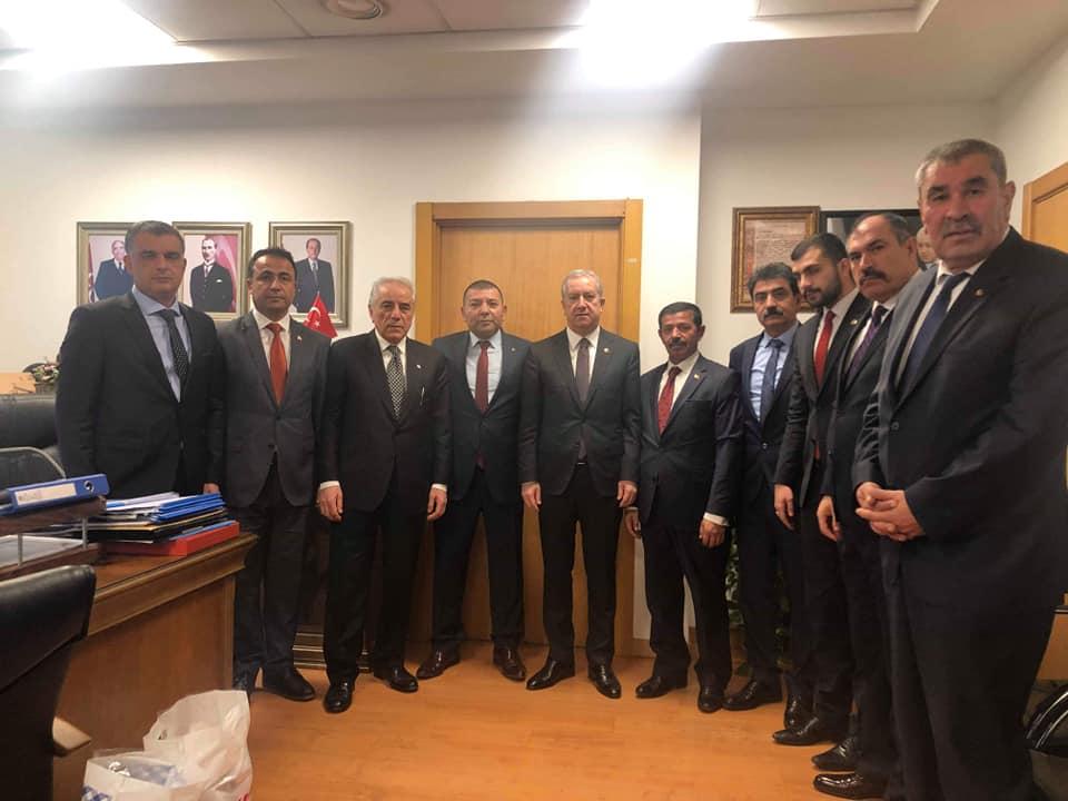 Milliyetçi Hareket Partisi (MHP) Sungurlu Belediye Başkan aday adayları, İlçe Başkanı Yasin Şahin ile birlikte Genel Merkeze gitti. | Sungurlu Haber