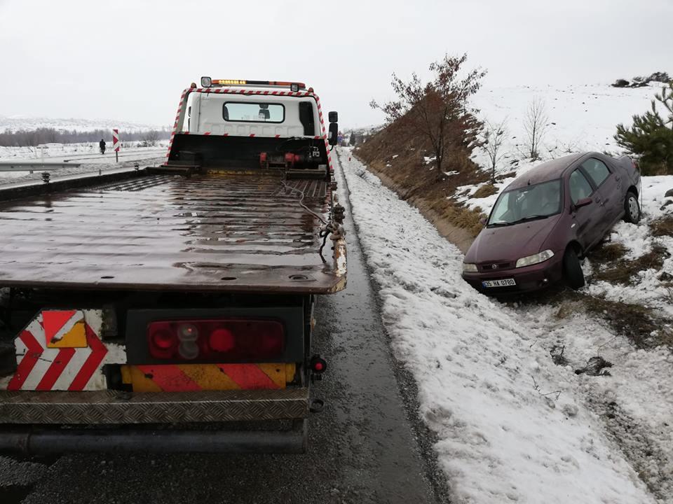 Çorum yolunda meydana gelen iki ayrı kazada ölen yada yaralanan olamazken, araçlarda maddi hasar meydana geldi. | Sungurlu Haber