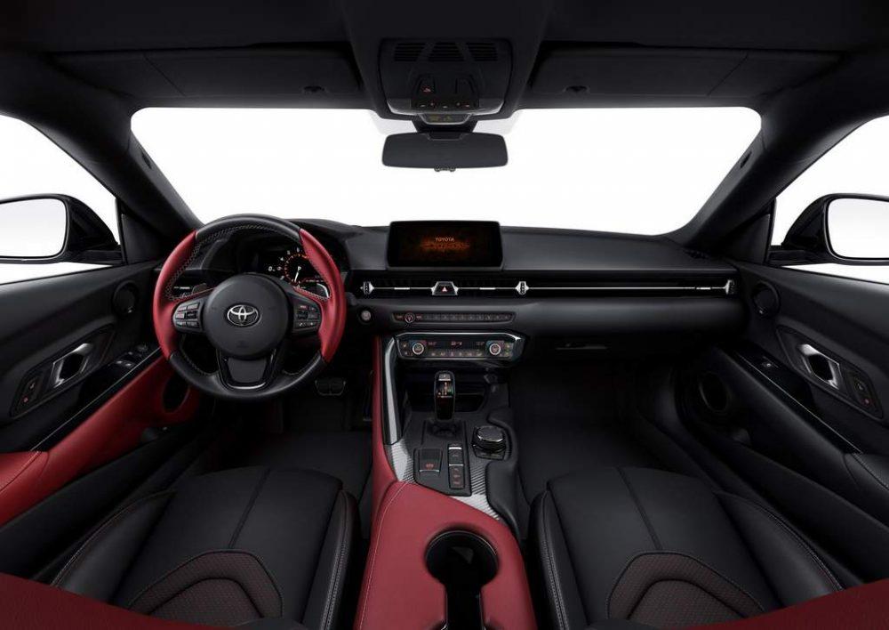 2020 Model Toyota Supra - İç