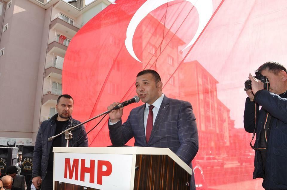Milliyetçi Hareket Partisi (MHP) İlçe Seçim Bürosu dualarla açıldı. | Sungurlu Haber