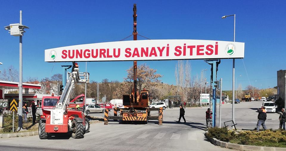 Sanayi Sitesine Çok Yakıştı... | Sungurlu Haber