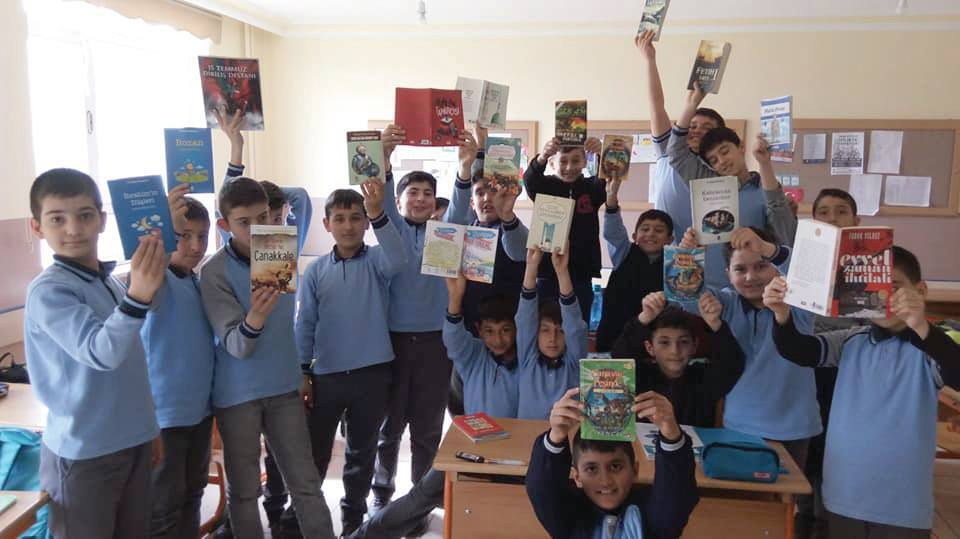 En Çok Kitap Okuyan 117 Öğrenci Ödüllendirildi | Sungurlu Haber
