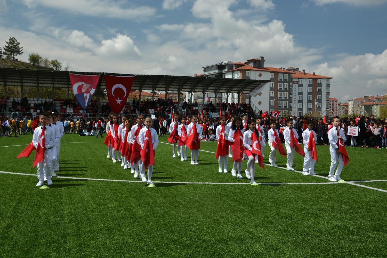 23 Nisan Ulusal Egemenlik ve Çocuk Bayramı tüm yurtta olduğu gibi Sungurlu'da da coşkuyla kutlandı. | Sungurlu Haber