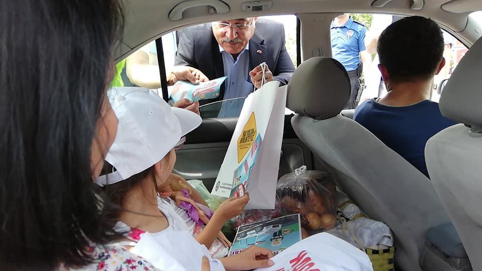 Emniyet Genel Müdürü Celal Uzunkaya, Sungurlu'da trafik denetimine katıldı. | Sungurlu Haber