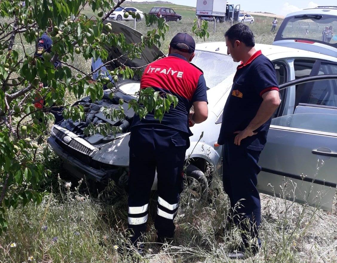 Sungurlu'da meydana gelen trafik kazasında 4 kişi yaralandı. | Sungurlu Haber