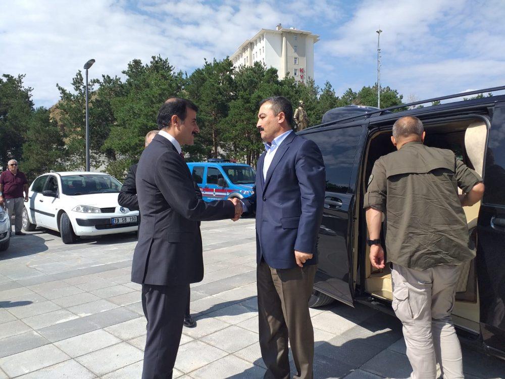 Bir dizi ziyaret ve incelemelerde bulunmak üzere Çorum Valisi Mustafa Çiftçi Sungurlu'ya geldi. | Sungurlu Haber