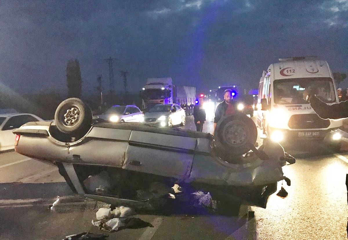 Sungurlu'da meydana gelen trafik kazasında 1'i ağır 2 kişi yaralandı. | Sungurlu Haber