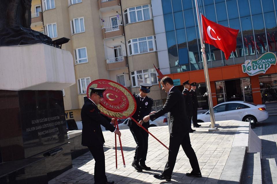 Sungurlu'da 19 Eylül Gaziler Günü düzenlenen törenle kutlandı. | Sungurlu Haber