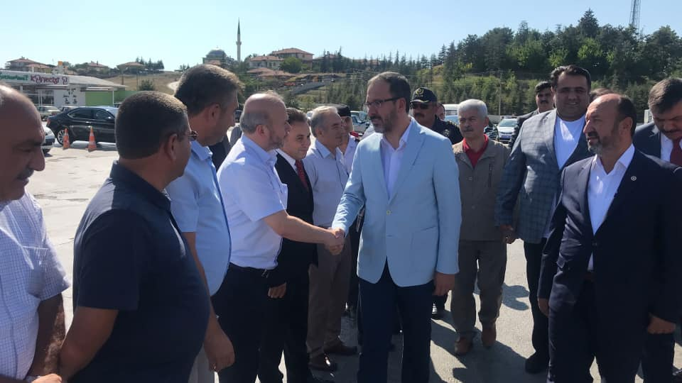 Bakan Kasapoğlu Sungurlu'da Karşılandı (Video Haber) » Sungurlu Haber