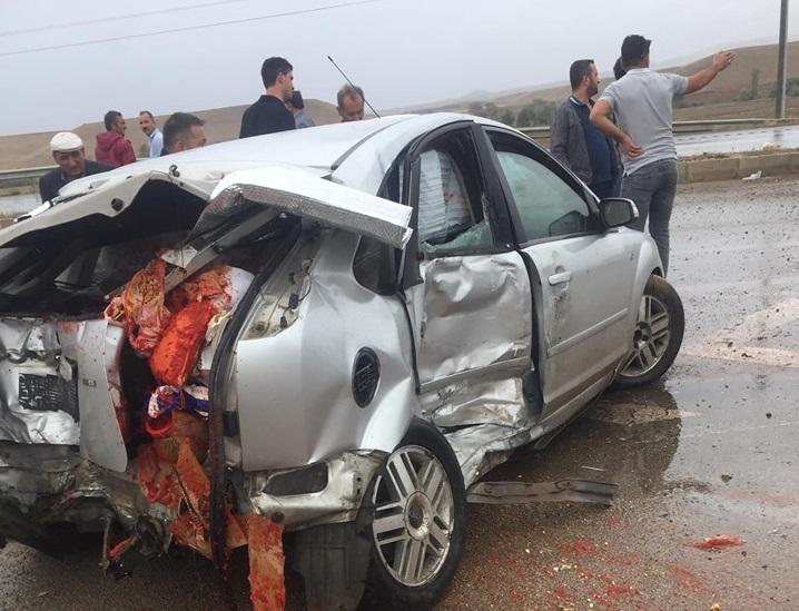 Otomobil ile Minibüs Çarpıştı : 2'si Ağır, 5 Yaralı » Sungurlu Haber