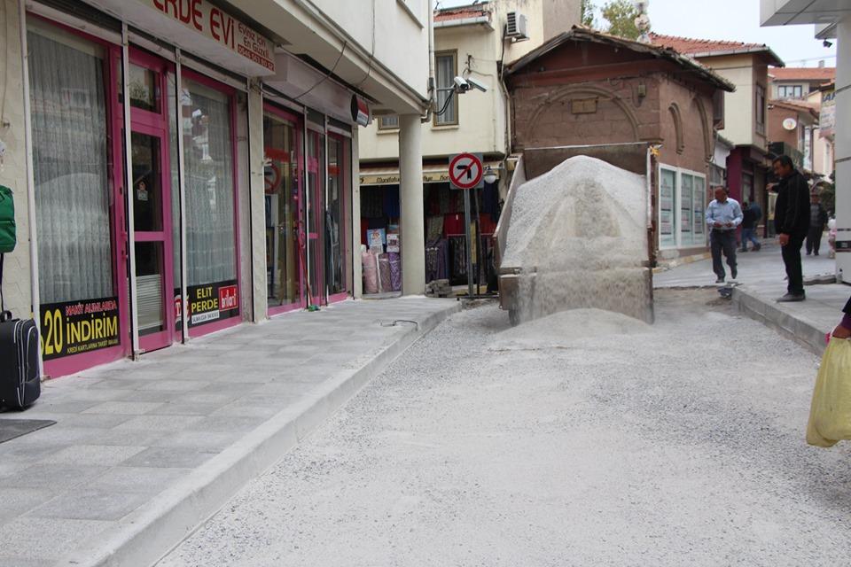 Belediye Caddesi'nde Sona Yaklaşıldı » Sungurlu Haber