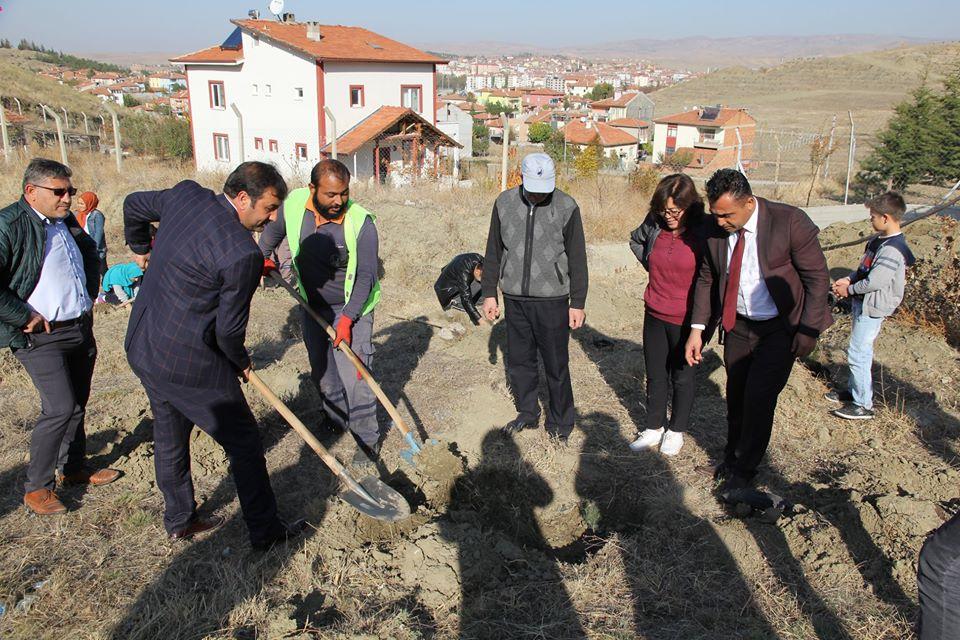 'Geleceğe Nefes' seferberliği ile gelecek nesillere daha yeşil bir Türkiye bırakmak için düzenlenen 11 Milyon Ağaç Dikim Kampanyası kapsamında Sungurlu Belediyesi 670 fidanı toprakla buluşturdu.   Sungurlu Haber