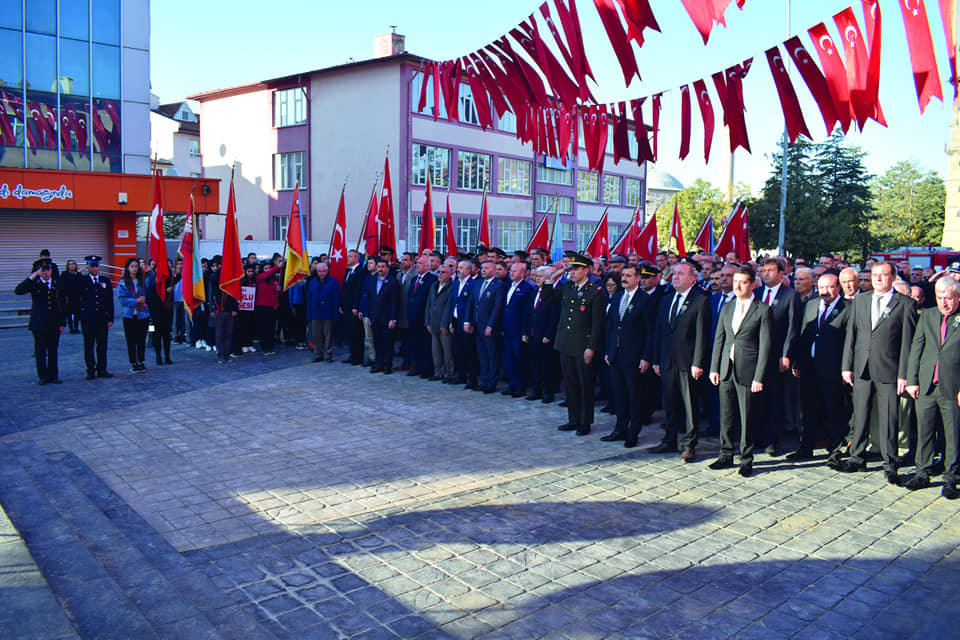 Türkiye Cumhuriyeti'nin Kurucusu Mustafa Kemal Atatürk'ün ölümünün 81. yıldönümü nedeniyle Sungurlu'da anma töreni düzenlendi. | Sungurlu Haber