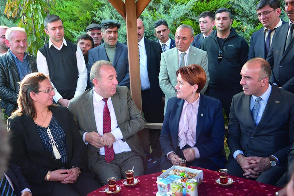 İyi Parti Genel Başkanı Meral Akşener, Belediye Başkanı Abdulkadir Şahiner'e geçmiş olsun ziyaretinde bulundu. | Sungurlu Haber