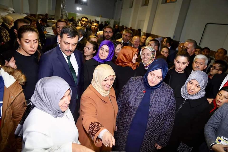 Aile, Çalışma ve Sosyal Hizmetler Bakanı Zehra Zümrüt Selçuk, Sungurlu Kadın Girişimi Üretim ve İşletme Kooperatifinin açılışını gerçekleştirdi. | Sungurlu Haber