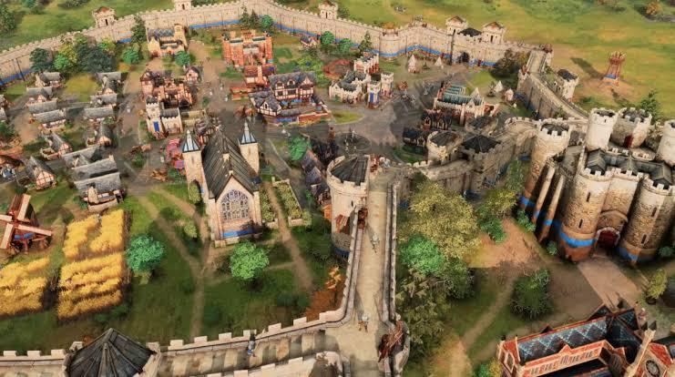 Age of Empires 4 - Oyun içi Ekran Görüntüsü