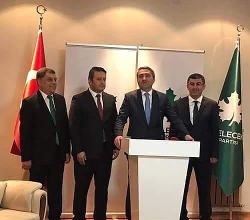 Hemşehrimiz Osman Hakan Kılıç, Gelecek Partisi Ankara İl Başkanı oldu.   Sungurlu Haber