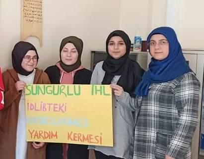 Şehit Ali Alıtkan Anadolu İmam Hatip Lisesi öğrencileri harçlıklarını İdlip'e gönderdi. | Sungurlu Haber