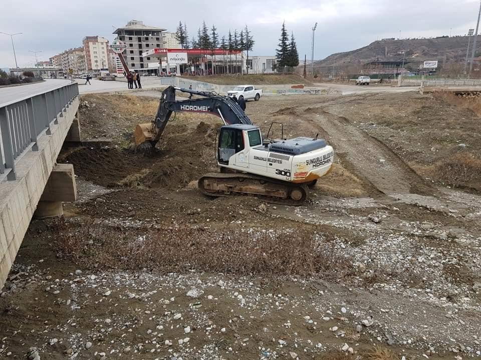 Sungurlu Belediye Başkanı Abdulkadir Şahiner, ilçe merkezinden geçen derelerin ıslahı konusunda çalışma yapılmamasını sert bir dille eleştirdi. | Sungurlu Haber