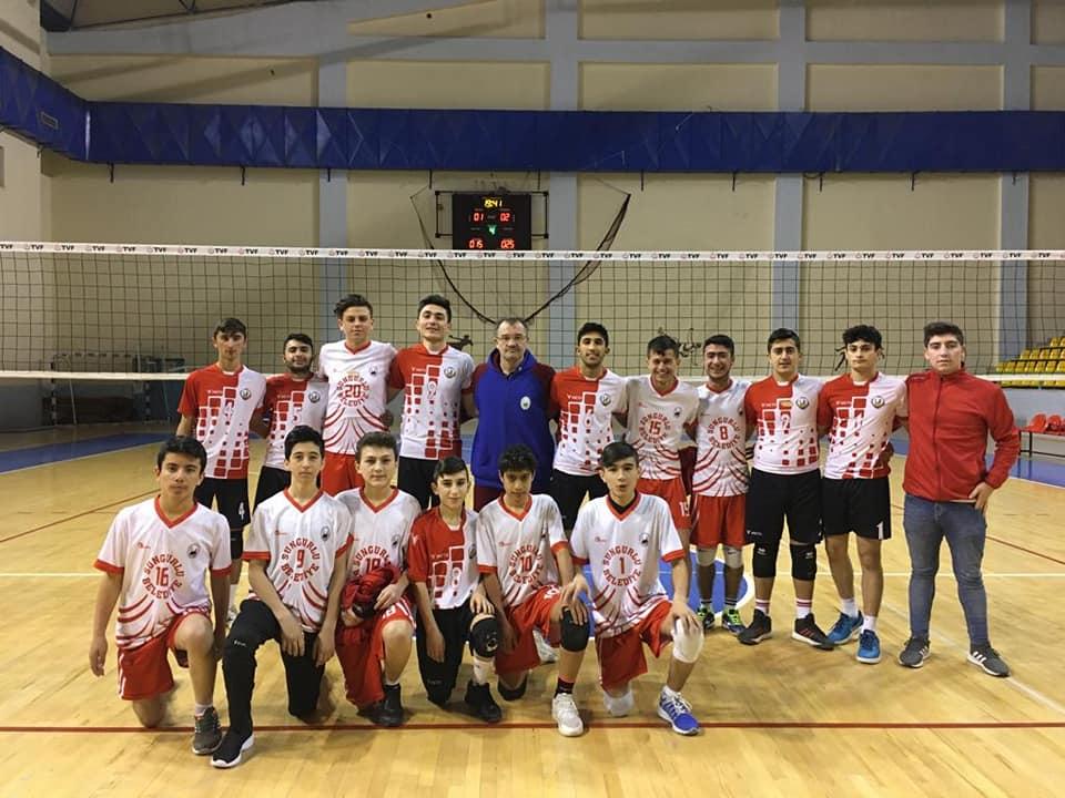 2019-2020 Genç Erkekler Çorum İl Birinciliği maçlarının tamamını kazanan Sungurlu Belediyespor şampiyonluğunu ilan etti.   Sungurlu Haber