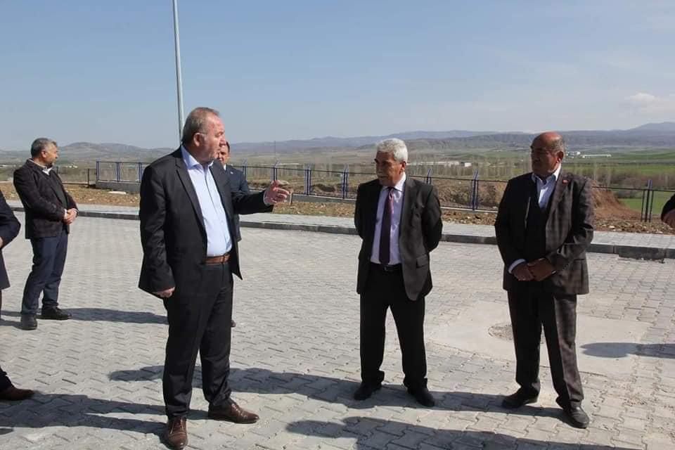 Sungurlu Belediye Başkanı Abdulkadir Şahiner, yapımı tamamlanan yeni cezaevini ziyaret etti. | Sungurlu Haber