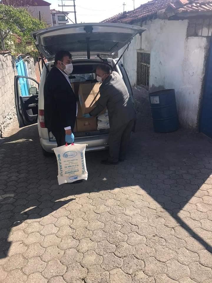 YARDIMLAR RAMAZAN'DA DA DEVAM EDİYOR » belediye, paket, ramazan, sungurlu, yardım