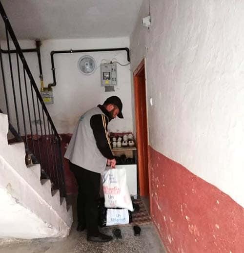 Selamet Uluslararası İnsani Yardım Derneği Sungurlu Temsilciliği ihtiyaç sahibi ailelere yardım elini uzattı. | Sungurlu Haber