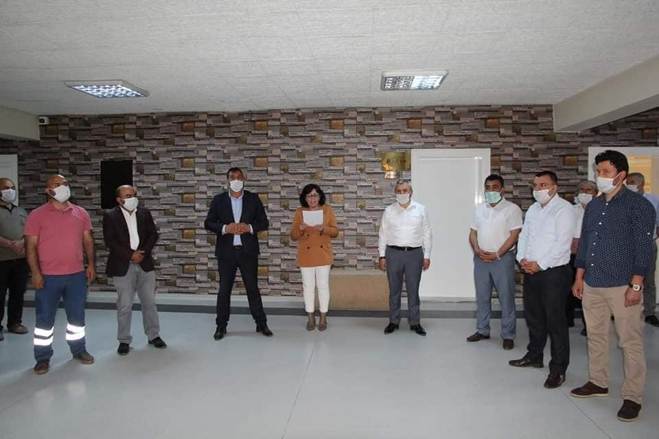 Sungurlu Belediye başkanlığı bünyesinde çalışan personeller bayramlaştı. | Sungurlu Haber