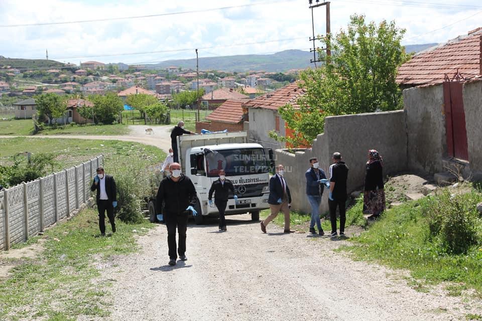 Başkan Şahiner Yardım Paketi Dağıttı » abdulkadir şahiner, covid, covid-19, sungurlu belediyesi