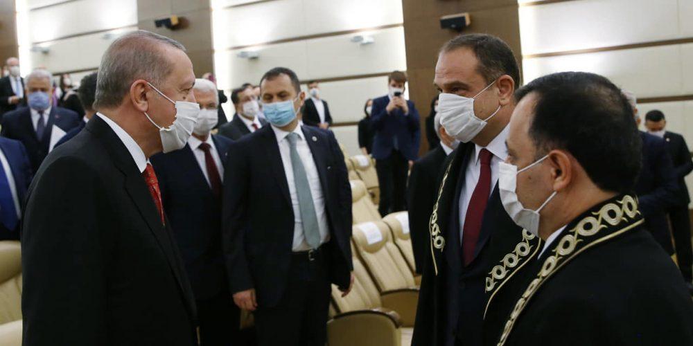 Cumhurbaşkanı Recep Tayyip Erdoğan, Anayasa Mahkemesi üyeliğine seçilen Sungurlulu hemşehrimiz Basri Bağcı'nın yemin törenine katıldı.   Sungurlu Haber