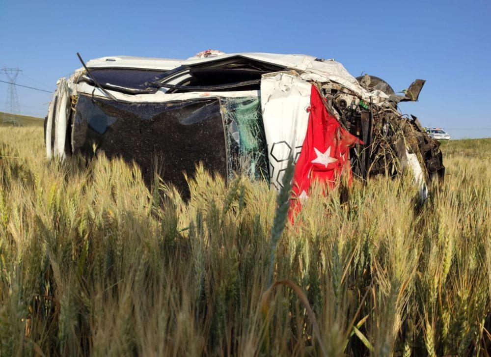 Sungurlu'da meydana gelen trafik kazasında 3 kişi yaralandı. | Sungurlu Haber