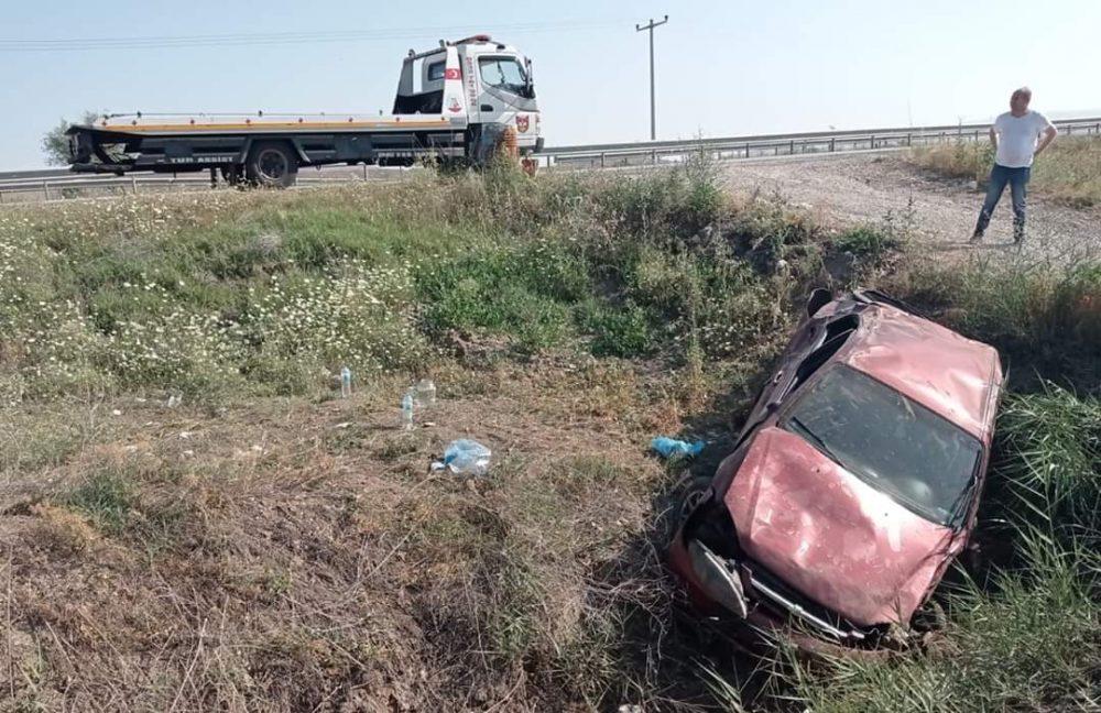 Sungurlu'da meydana gelen trafik kazasında 3'ü çocuk 4 kişi yaralandı. | Sungurlu Haber