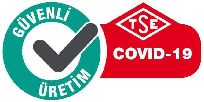 LAVALİA İREM'E 'TSE COVID-19 GÜVENLİ ÜRETİM BELGESİ' | Sungurlu Haber