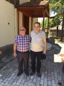Anayasa Mahkemesi Üyeliğine seçilen hemşehrimiz Basri Bağcı, Tuğcu köyünü ziyaret etti.   Sungurlu Haber