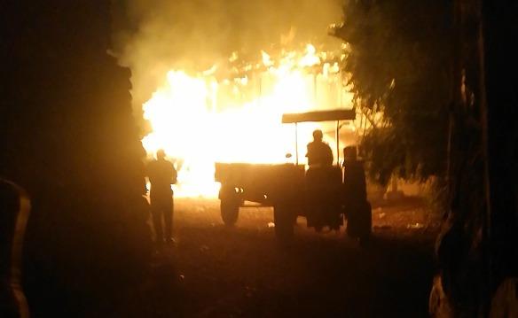 Sungurlu'da bir evde çıkan yangında yaşlı çift yanarak hayatını kaybetti. | Sungurlu Haber