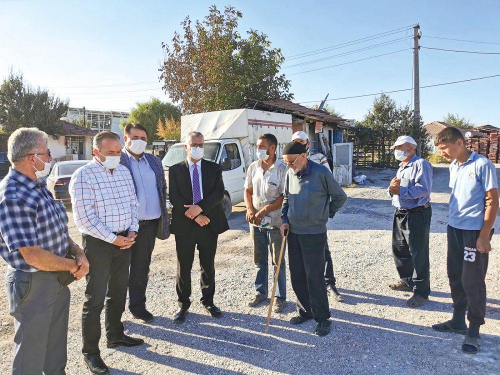AK Parti Çorum milletvekili ve MKYK Üyesi Ahmet Sami Ceylan, keresteci esnafının yeni site talebine imkanlar ölçüsünde her türlü desteği vermeye hazır olduklarını açıkladı. | Sungurlu Haber