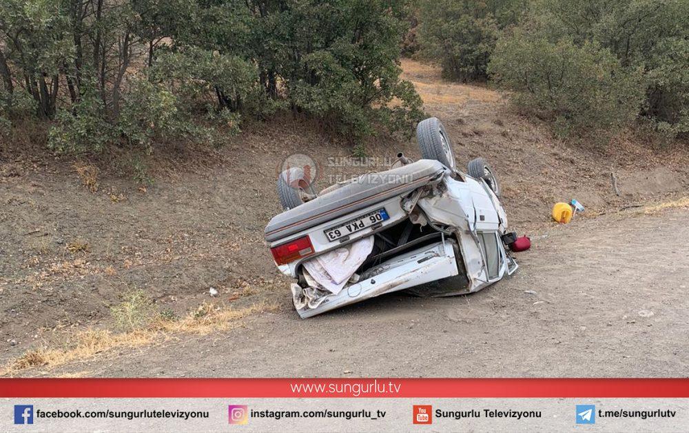 Sungurlu'da meydana gelen trafik kazasında 1 kişi hayatını kaybederken, 1 kişi de yaralandı. | Sungurlu Haber