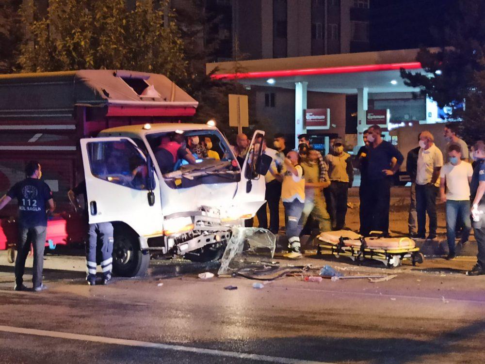 sungurlu hitit kavşağı kaza traktör yaralı son dakika sungurlu haber sungurlu gazetesi