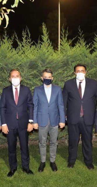 AK Parti Çorum Milletvekilleri Ceylan ve Kaya, Tarım Bakanı Pakdemirli ve DSİ Genel Müdürü Yıldız ile görüşerek Çorum'a yeni ödenekler sağladılar.